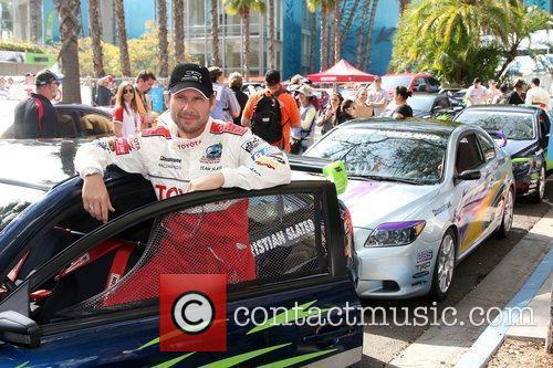 The Toyota Pro/Celebrity Race qualifying at Long Beach