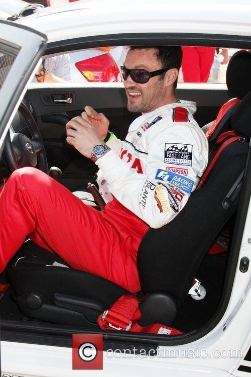 Brian Austin Green Pess practice day for the...