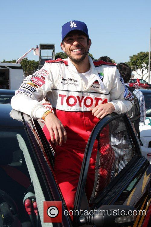 Pess practice day for the Toyota Pro/Celebrity Race