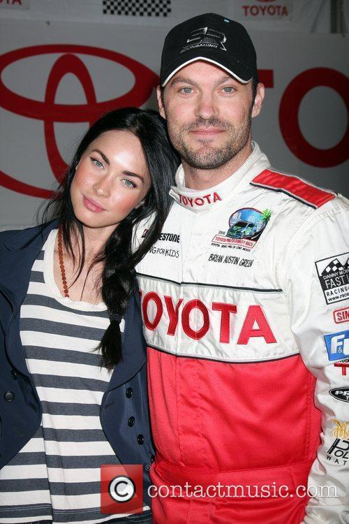 Megan Fox and Brian Austin Green The Toyota...