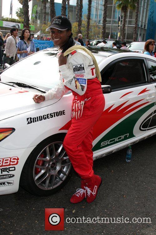 Tika Sumpter The Toyota Pro Celebrity Race Day...