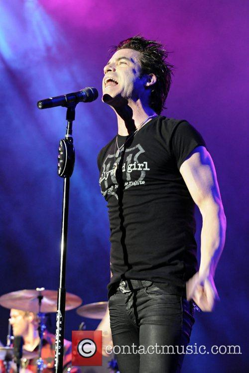 Pat Monahan Train performs at the Greek Theatre...