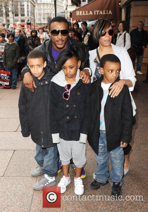 Ashley Walters and family The 'How to Train...