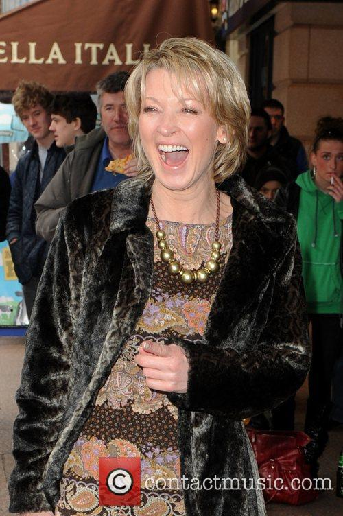 Gillian Taylforth  The 'How to Train Dragon'...