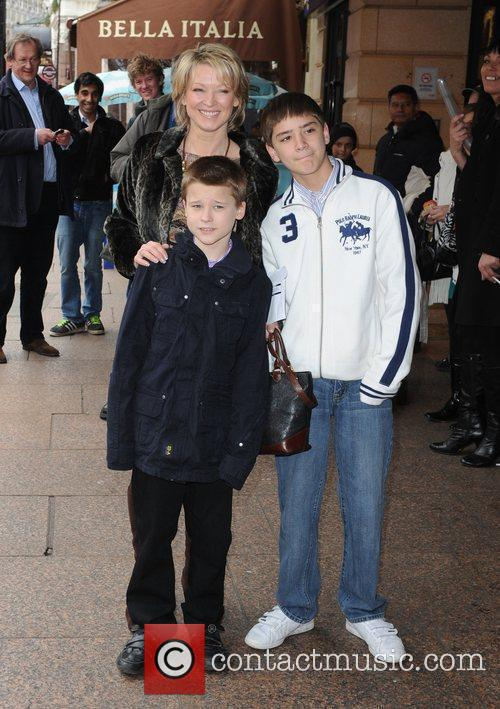 Gillian Taylforth with son Harrison  The 'How...