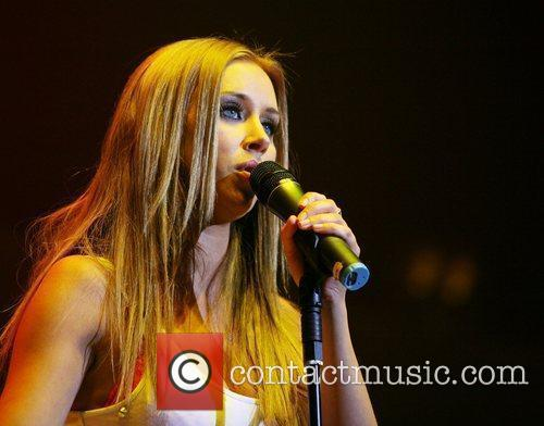 Una Healy of The Saturdays performing at the...