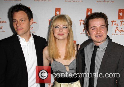 Emma Stone, Dan Byrd and Palladium 3