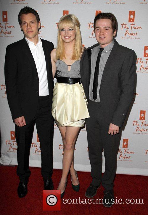 Emma Stone, Dan Byrd and Palladium 4
