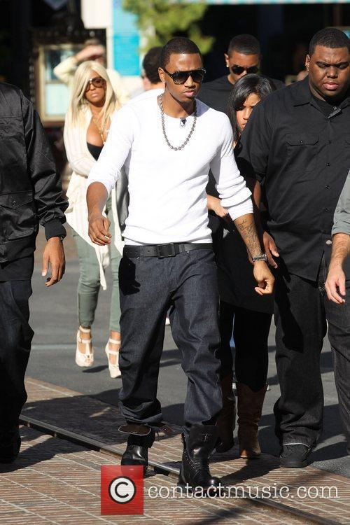 Trey Songz was at The Grove to take...