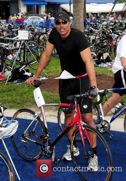 Rick Fox The Third annual Nautica South Beach...