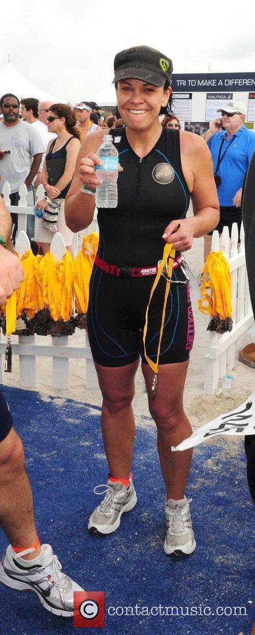 Ali Vincent The Third annual Nautica South Beach...