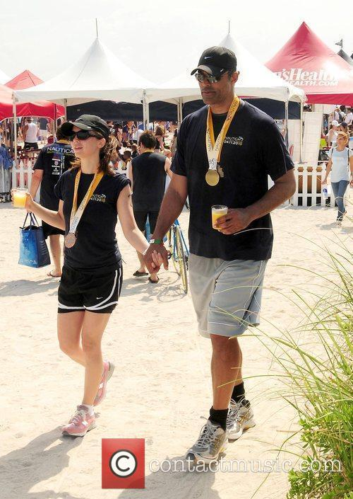 Eliza Dushku and Rick Fox 1