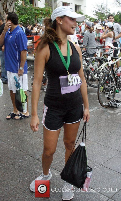 Vanessa Minillo attends the first annual Triathlon for...