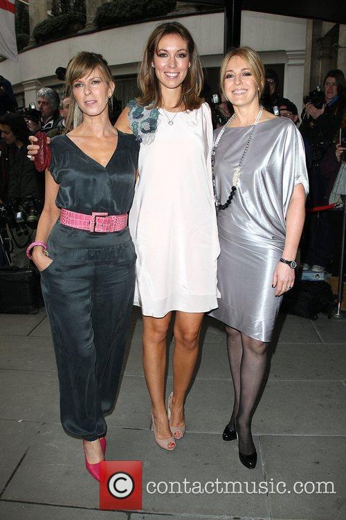 Kate Garraway, Emma Crosby and Helen Fospero The...