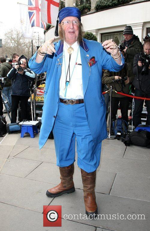 John McCririck The TRIC awards 2010 (Television and...