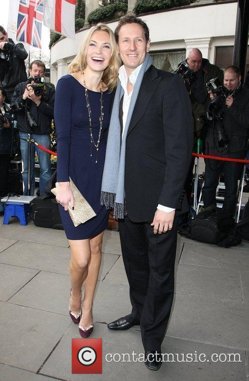 Zoe Hobbs and Brendan Cole The TRIC awards...