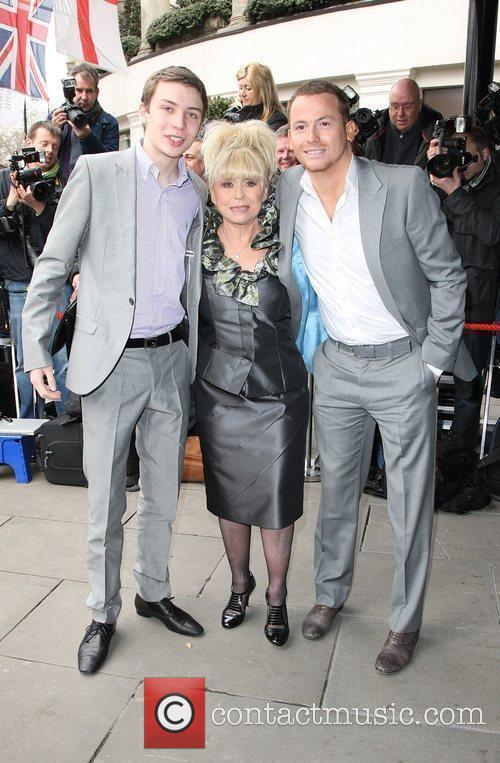 Charlie G Hawkins and Barbara Windsor