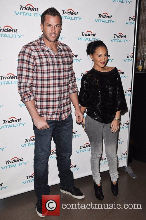 Doug Reinhardt, Adrienne Bailon Celebrities join Trident at...
