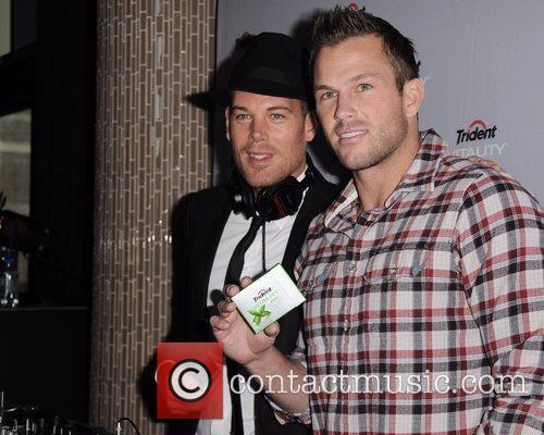 Doug Reinhardt, Coleman Feltes Celebrities join Trident at...