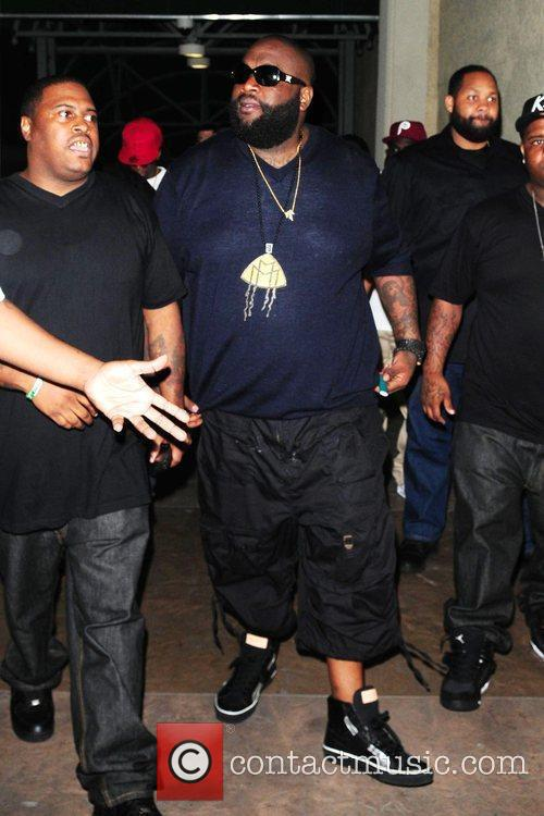 Rick Ross Trina Album Release Party held at...