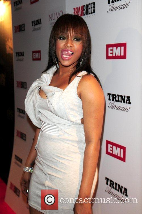Trina Trina Album Release Party held at club...