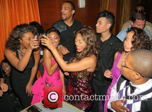 Rap star Trina's birthday celebration at Mia Lounge