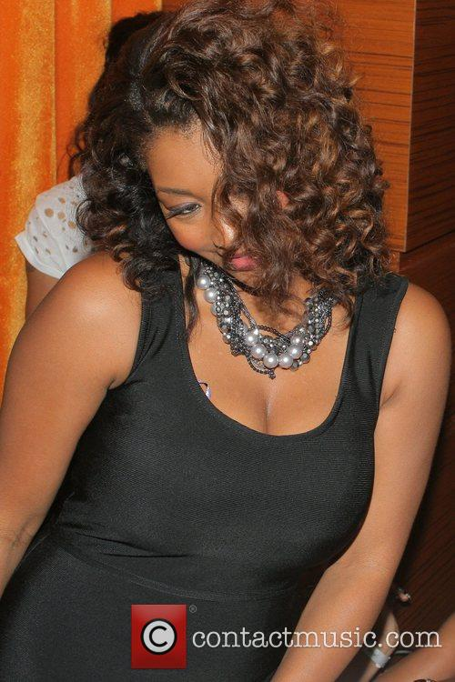 Toccara Jones Rap star Trina's birthday celebration at...