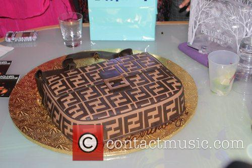 Trina's Fendi purse birthday cake Rap star Trina's...