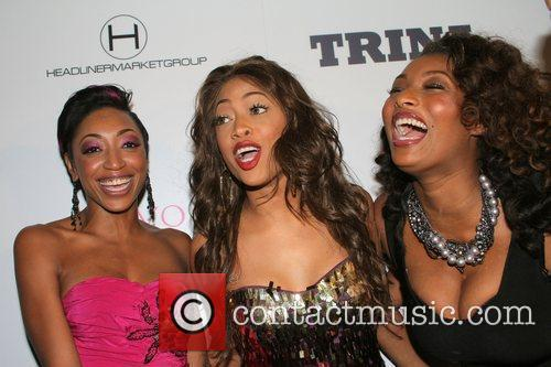 Trina and Toccara Jones Rap star Trina's birthday...