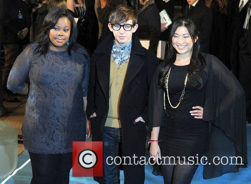 Amber Riley, Glee, Kevin McHale, Empire Leicester Square