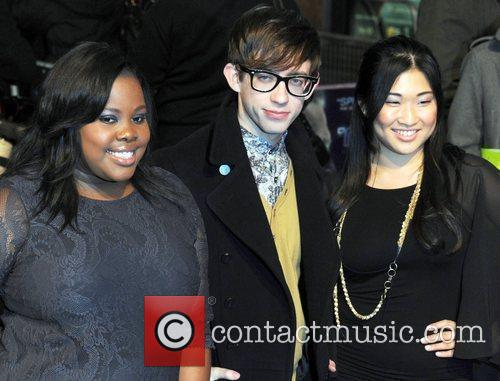 Amber Riley, Glee and Kevin Mchale 2