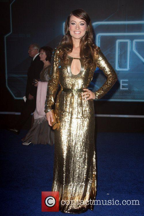 Olivia Wilde Los Angeles Premiere of Tron: Legacy...