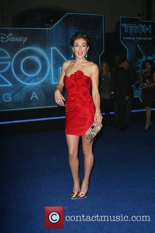 Los Angeles Premiere of Tron: Legacy held at...
