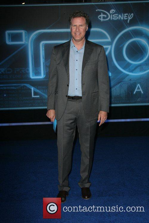 Will Farrell Los Angeles Premiere of Tron: Legacy...