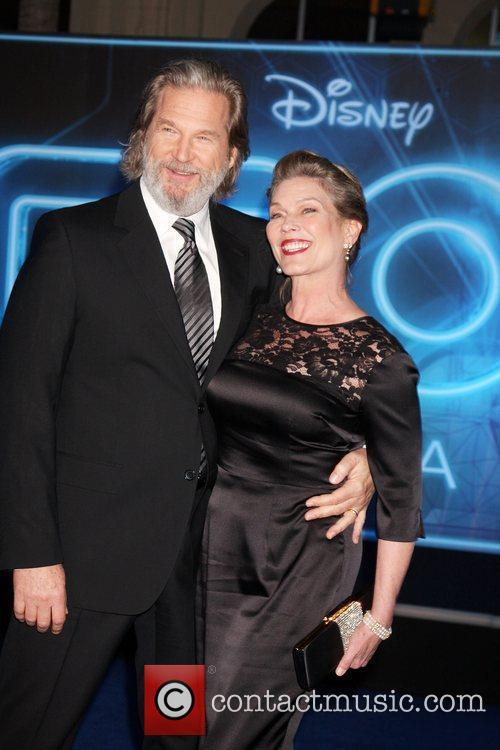 Jeff Bridges; Susan Bridges Los Angeles Premiere of...