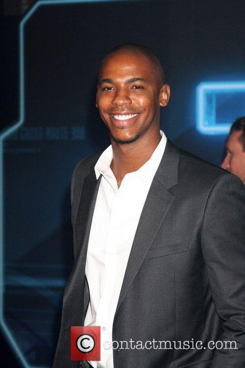 Mechad Brooks  Los Angeles Premiere of Tron:...