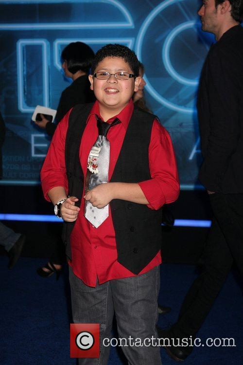 Rico Rodriguez Los Angeles Premiere of Tron: Legacy...