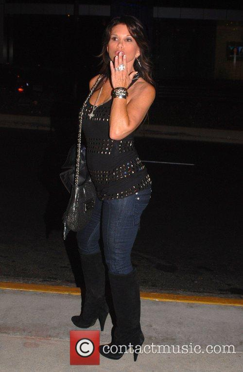 Lynee Curtin poses for a picture outside Trousdale...