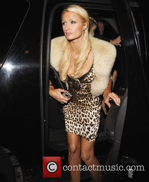 Arriving at Trousdale nightclub