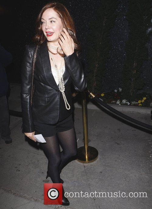 Rose McGowan arriving at Trousdale nightclub West Hollywood,...
