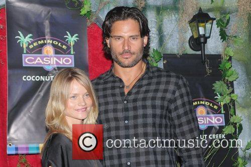 True Blood stars Lindsay Pulsipher and Joe Manganiello...