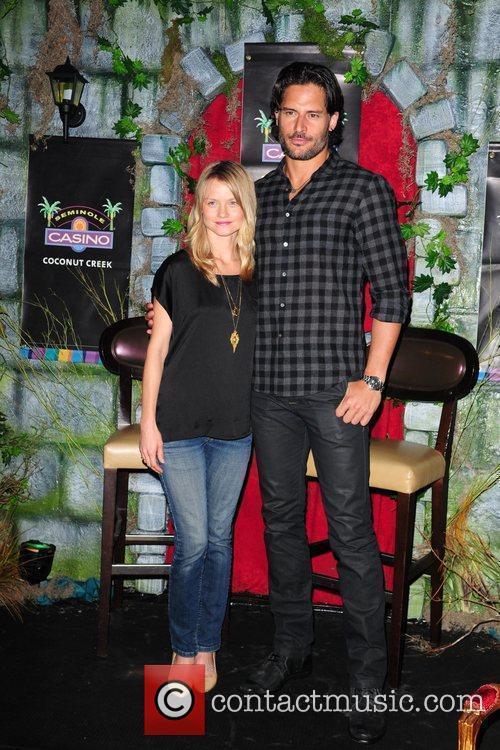 Lindsey Pulsipher and Joe Manganiello  of the...