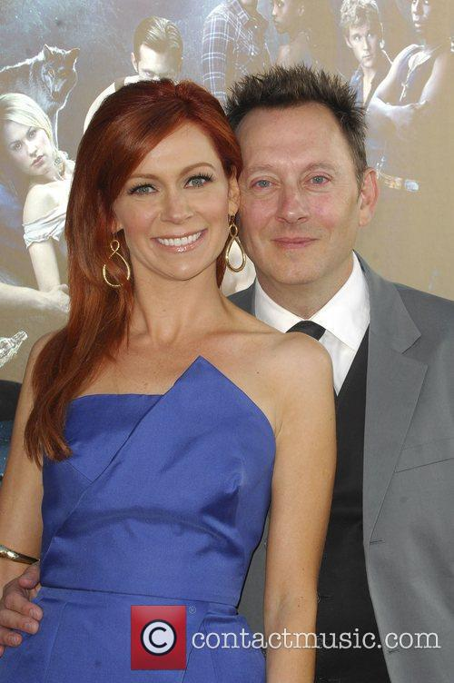 Carrie Preston and Michael Emerson HBO's True Blood...