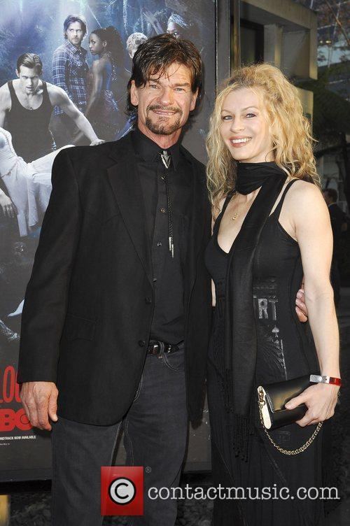 Don Swayze and wife HBO's True Blood Season...