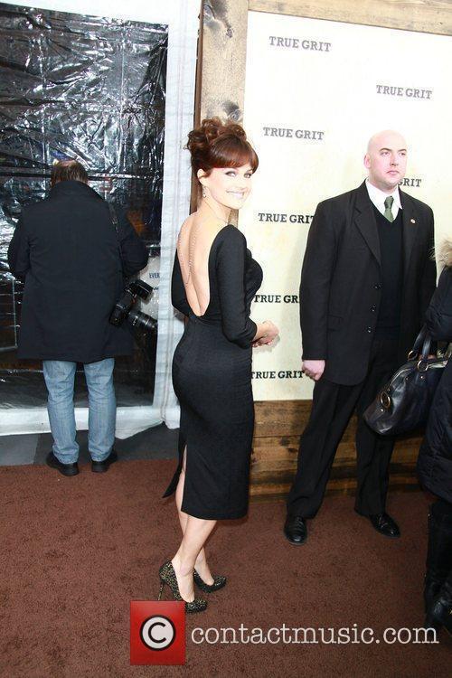 Carla Gugino,  New York Premiere of 'True...