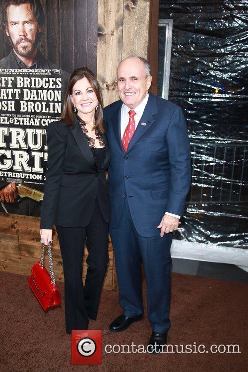 Rudy Giuliani, Judith Giuliani,  New York Premiere...