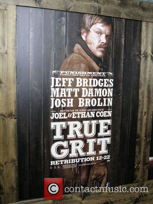 True Grit Posters,  New York Premiere of...
