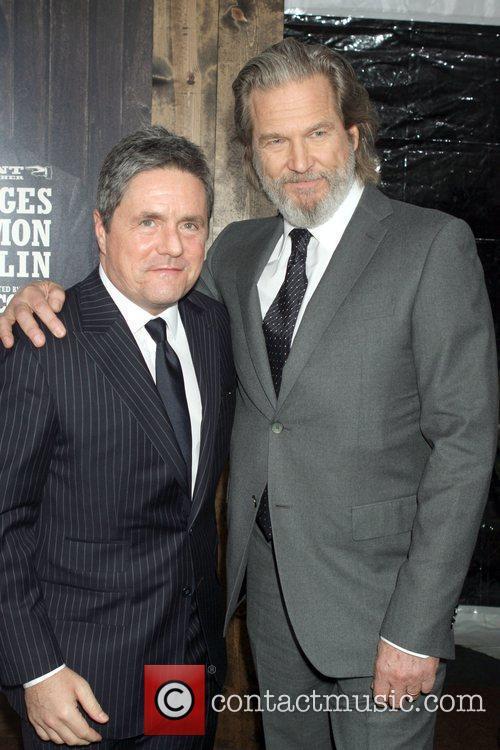 Brad Grey and Jeff Bridges  New York...