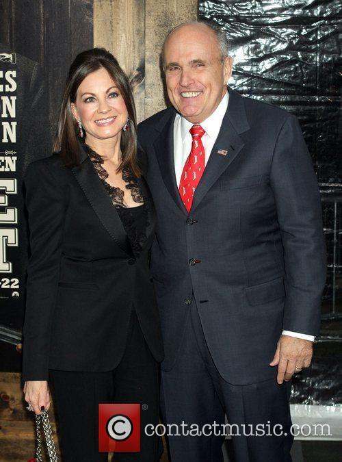 Rudolph Giuliani, Judith Giuliani  New York Premiere...
