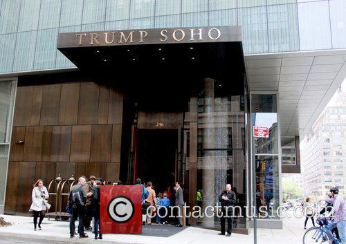 Atmosphere Ribbon cutting ceremony for Trump Soho at...